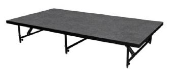 "Intellistage Portable Staging 101 8'x4' Panel - Adjustable To 24"" Or 32"" High 8ft x 4ft Platform"